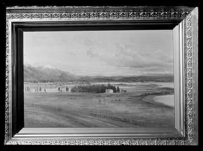 Miss Millets, painting of Tahunanui