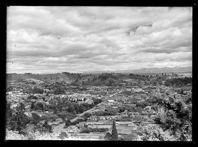 Nelson from The ZigZag, Botanical Hill 1947