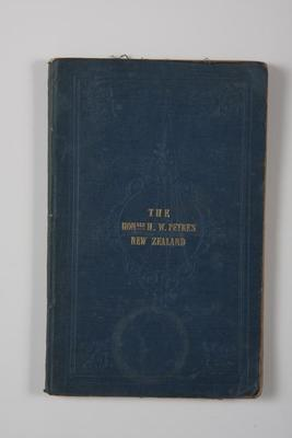 An account of the settlement of the New Zealand Company from personal observation during a residence there; 1841; A149.385