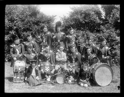 Nelson Highland Pipe Band, gp 14