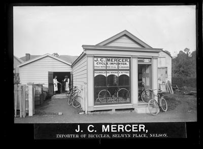 Mercer J.C., Bicycles, Selwyn Place