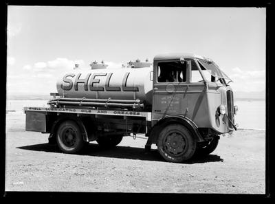 Shell Oil Co. tanker truck