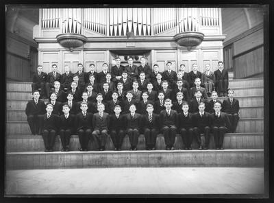 Christ Church Cathedral, Nelson College Choir, 1948