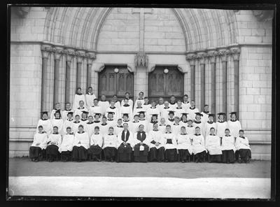 Christ Church Cathedral Choir, Nelson 1951