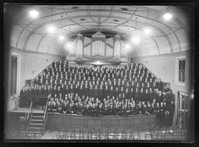Nelson College Choir, 1962