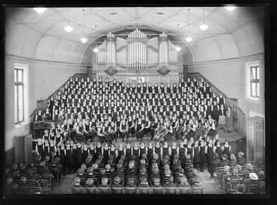 Nelson College for Girls choir, 1950