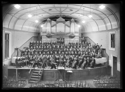 Nelson College orchestra, 1950