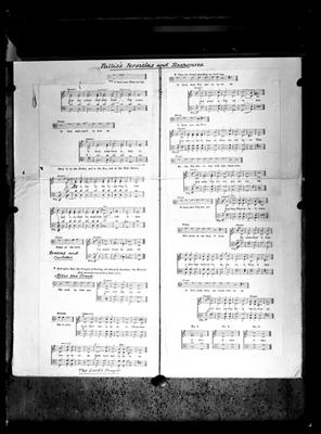 Cathedral Choir music sheet
