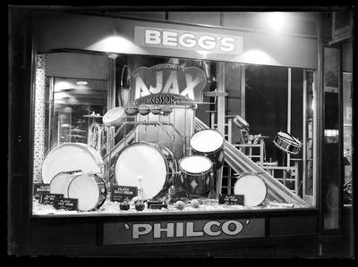 Beggs & Co, window display