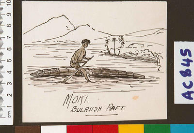 Moki, Bulrush raft