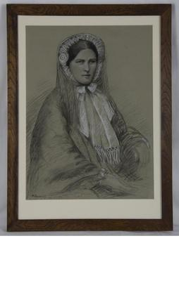 [Portrait of Isabella Harkness]