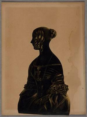 [Silhouette of woman]