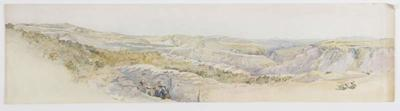 Turk Entrenched Positions. Sketch looking north east, descriptive of the country immediately in front of our firing lines.;