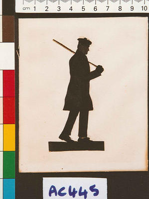 [Silhouette of Captain Arthur Wakefield]