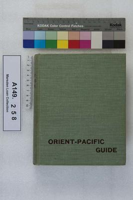Orient Pacific Line guide : chapters for travellers by sea and by land; 1901; A149.258