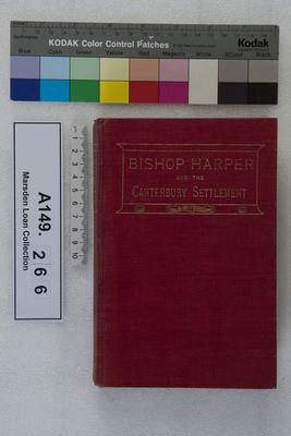 Bishop Harper and the Canterbury settlement
