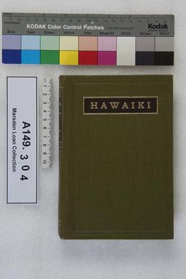 Hawaiki : the original home of the Maori, with a sketch of Polynesian history / by S Percy Smith; 1910; A149.304