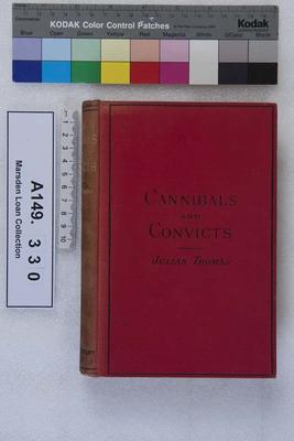 Cannibals and convicts : popular edition; 1887; A149.330