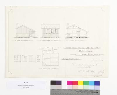 Proposed school : Hinehaka, Murchison, Nelson District; 1923; A4207