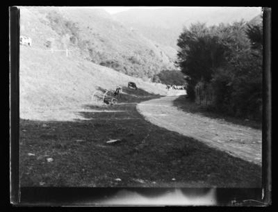 Tricycle at reservoir [thought to be]
