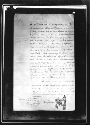 Land Deed. September 5th 1831