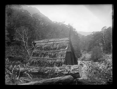 """Jonathan Brough's Whare (""""Tabernacle in Wilderness"""")"""