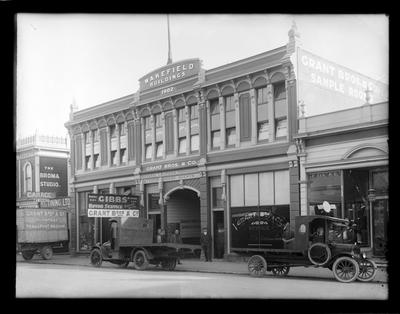Grant Bros & Co, Wakefield Building, Nelson