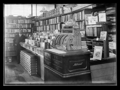 Book shop interior