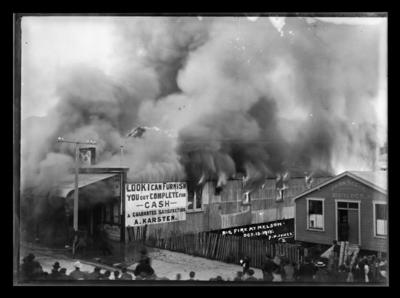 Big Fire at Nelson - Oct.13.1915.