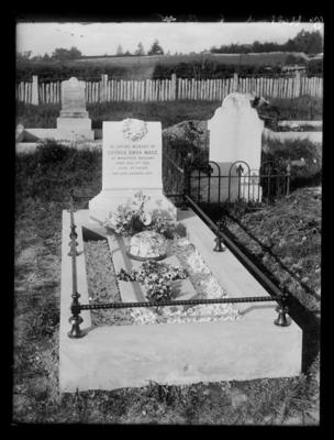 Mace, George Amos, tombstone, died 1st August 1915 aged 57 years