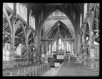 Cathedral interior , Nelson, pre 1920
