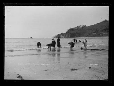 On the Sands at Tahuna - Nelson.N.Z.