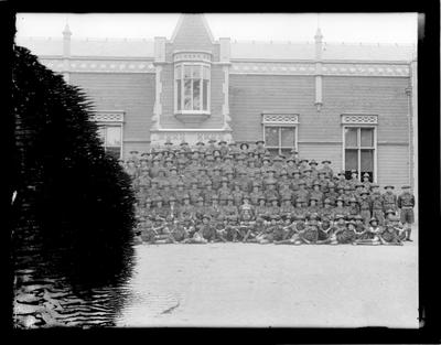 Nelson Cadets, large group
