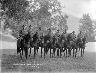 Nelson Troop. 4th. Contingent. Feb 27. 1900