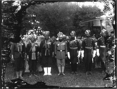 Officers, Indian Regiment