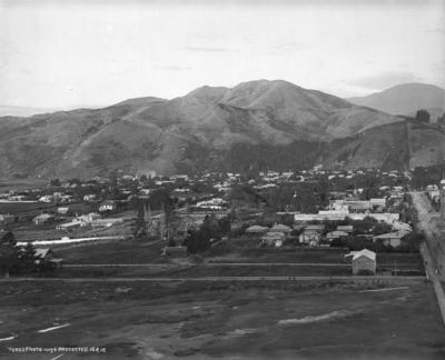 Nelson City, looking towards The Wood