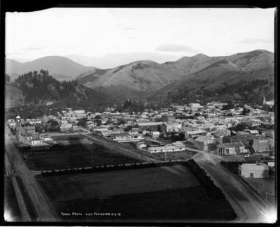 Nelson City looking east
