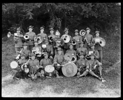 Nelson City Rifles, Sally Brown Band