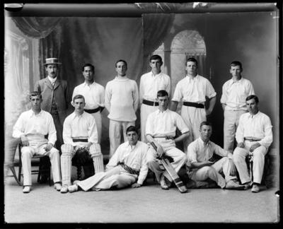 Nelson College Cricket Players