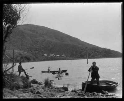 Cable Bay, boating
