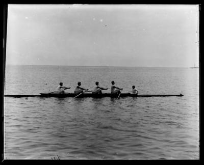 Nelson Rowing Club, racing shell
