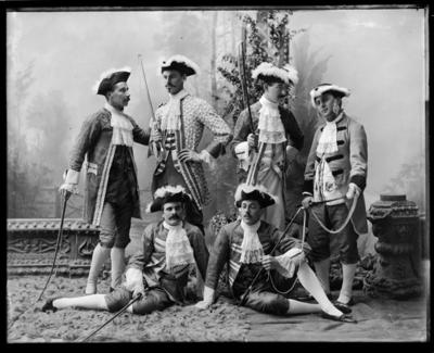 """""""Les Cloches"""", Nelson Amateur Operatic Society 1898"""