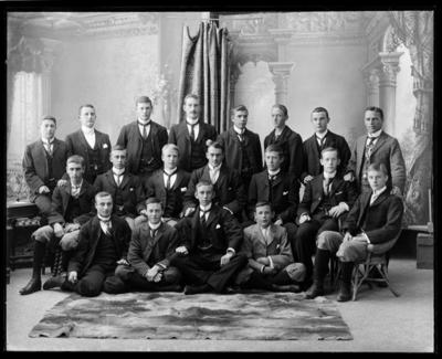 Nelson College Prefects 1901