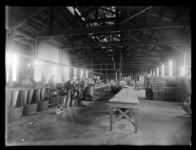 S Kirkpatrick & Co Ltd, Factory interior