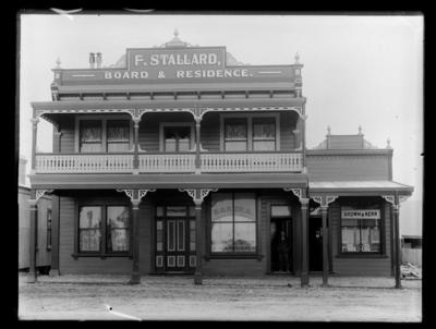 Stallard Boarding House, Collingwood
