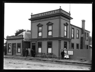 The Colonist Office, Nelson