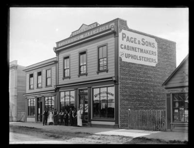 Page & Sons, Cabinetmakers & Upholsterers