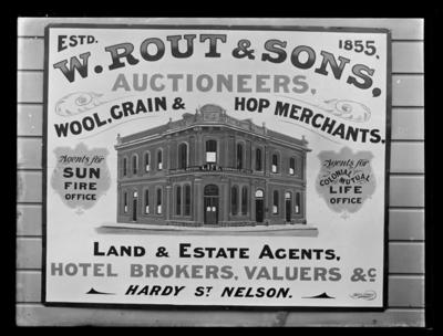 W. Rout & Sons advertisement