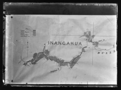 Inangahua, Lyell, survey plans showing dredging claims, reserves etc