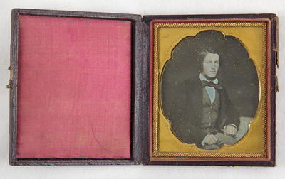 Daguerreotype, Mr Robert Scott.